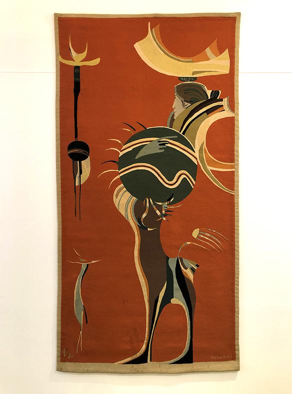 "Júlio Pomar (1926-2018)       Tapestry ""Centaur"", 1959"