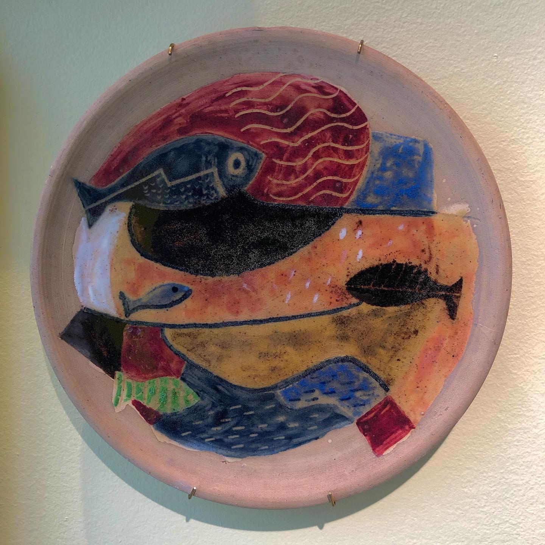 "Victor Palla (1922-2006)     PLATE ""Fishes"", 1950"
