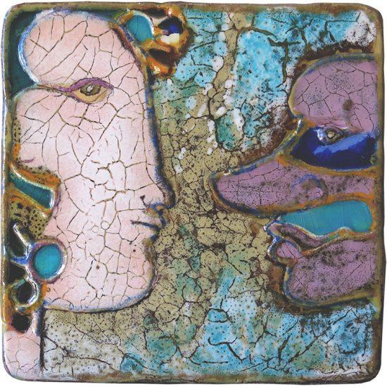 Querubim Lapa (1925-2016) | Ceramic Wall Plaque, c.1970