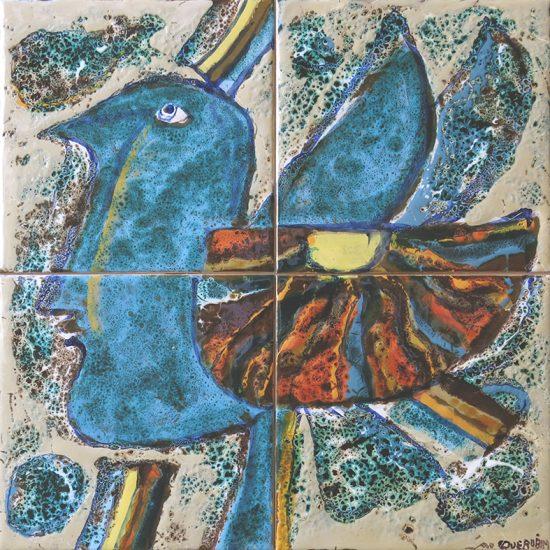 Querubim Lapa (1925-2016) | Ceramic Tile Panel #8, c.1991