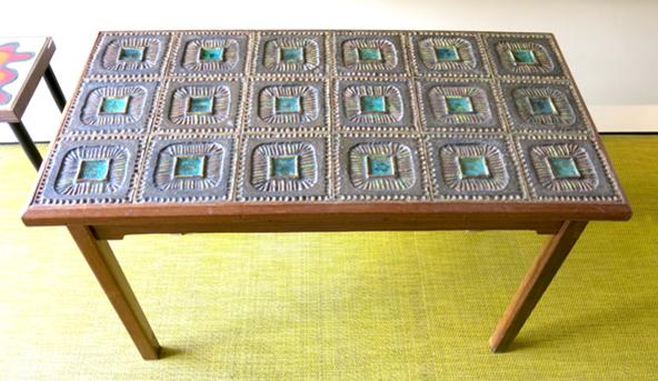 Ferreira da Silva (1928-2016)   CERAMIC TILED COFEE TABLE, c.1962-67
