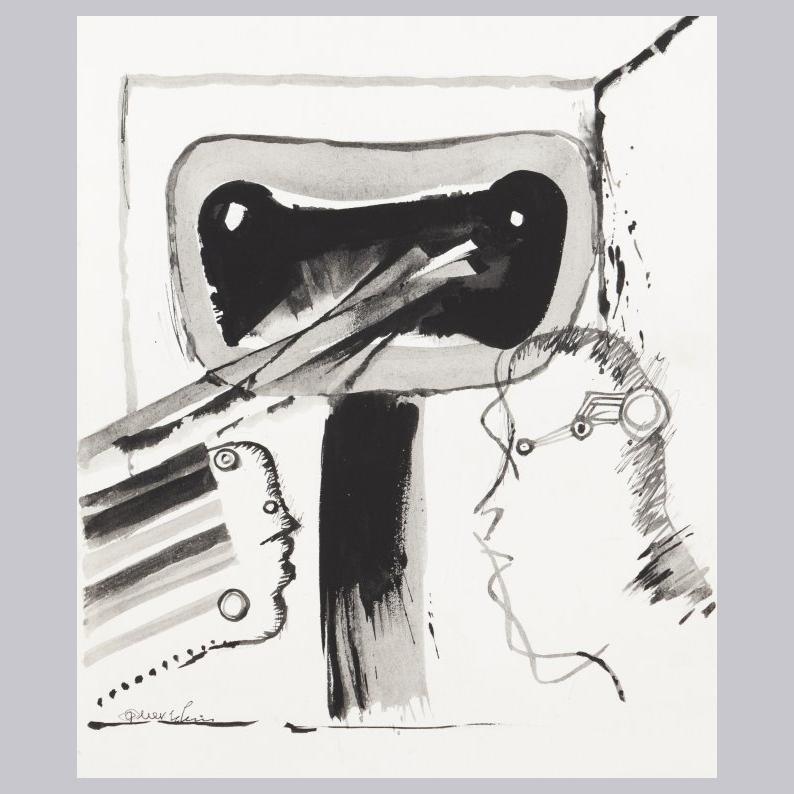 Querubim Lapa (1925-2016) | DRAWING, c.1970
