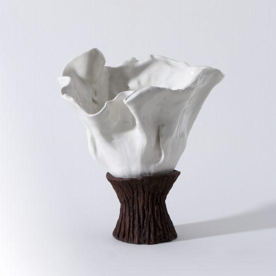 "Beatriz Horta Correia (n.1962) | PORCELAIN SCULPTURE ""Chalice"", 2014"