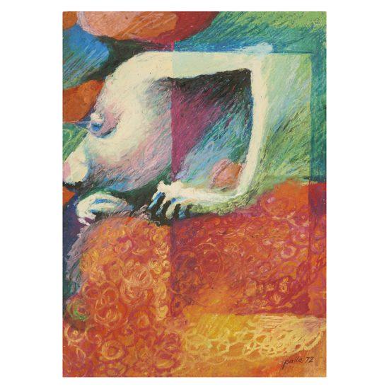 Victor Palla (1922-2006) | DRAWING, 1972